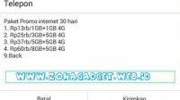 cara daftar paket telkomsel 1gb 13 ribu
